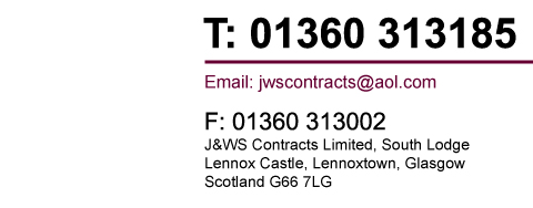 JWS Contracts Ltd - Builders Glasgow 01360 313185